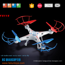 Professional 2.4G 4CH ABS 6-axis headless mode remote control drone helicopter